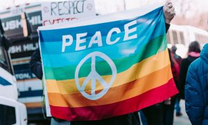 Powerful Moments of Peace During Protests